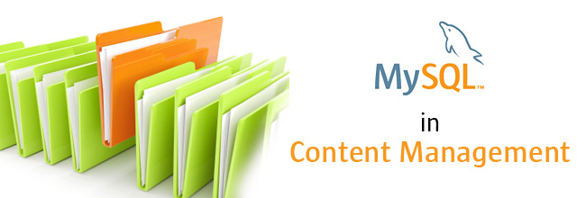 MySQL  in Content Management